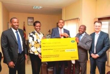MTN Uganda showcases its financial clout